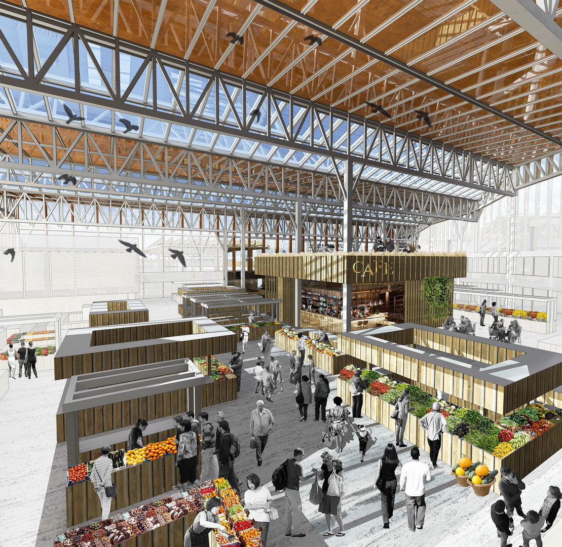 Market – New Public Center Of Local Communities. Historical Evolution And  Modern Approaches To The Design Of Urban Markets